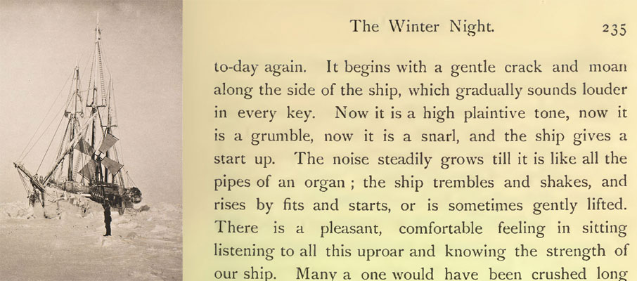 The Ship Fram and a quote from Farthest North