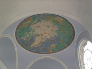 The Arctic roof of the Scott Polar Research Institute