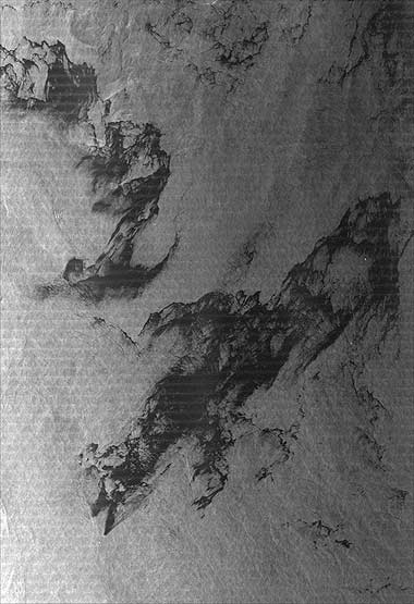 TerraSAR-X image of the month: Oil disaster off the Australian coast
