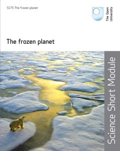 The Cover of the Open University Frozen Planet Coursebook