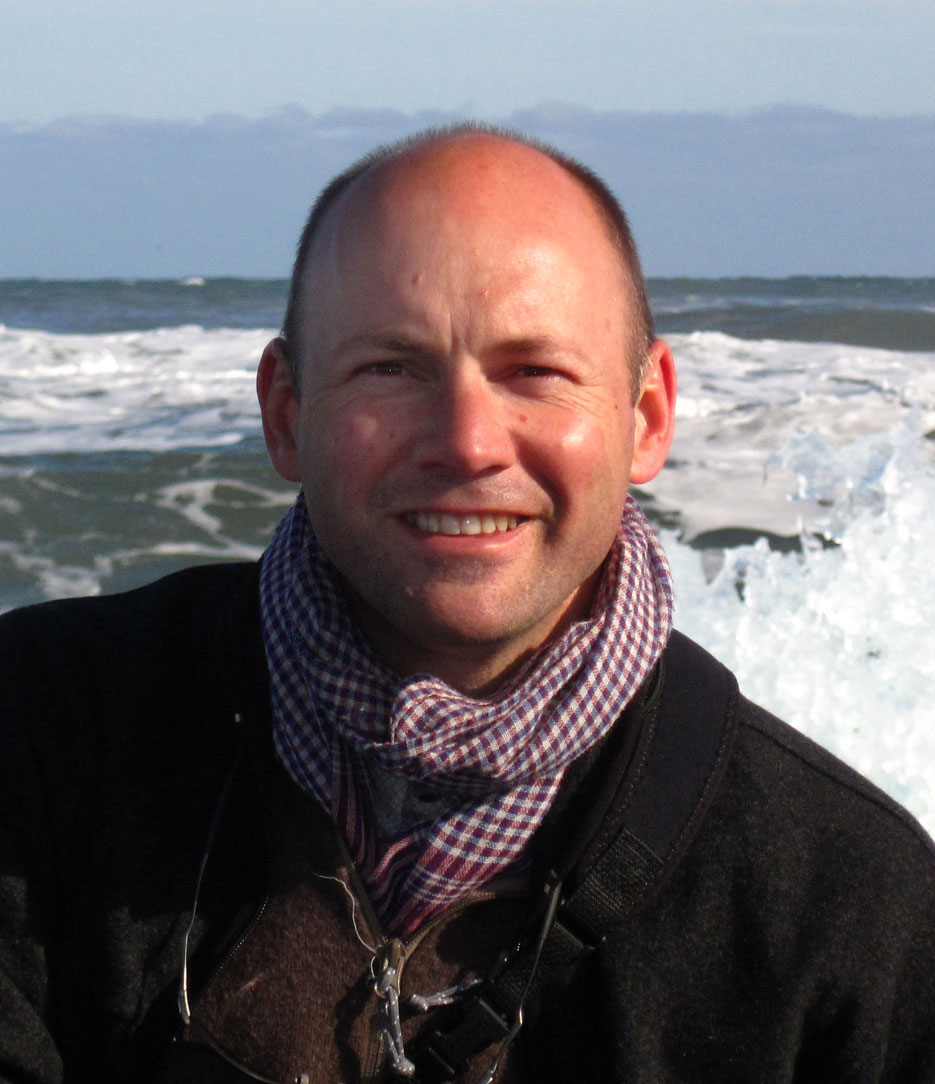 Mark Brandon in the Arctic
