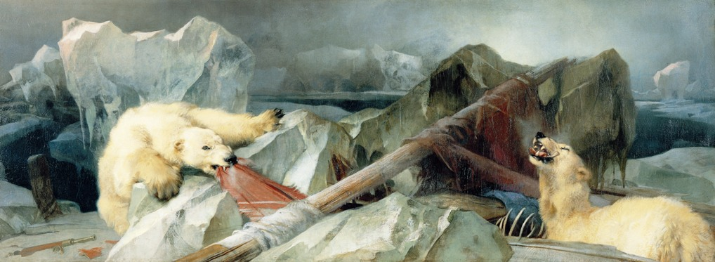 Man Proposes, God Disposes by Edward Landseer 1864.