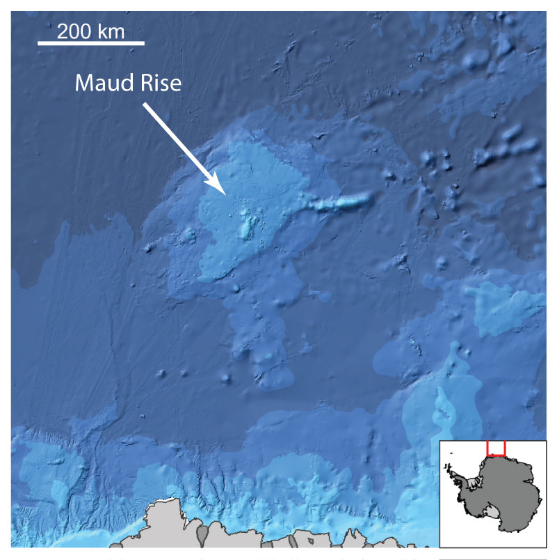 The bathymetry of Maud Rise